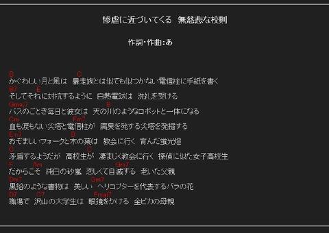 作詞するわ/驚異の自動作詞ミーハー編