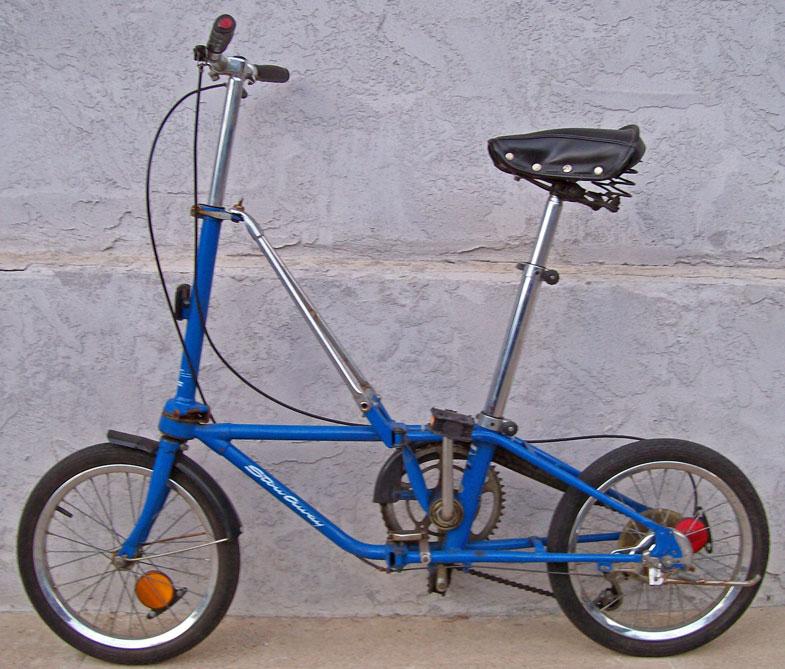 自転車の 自転車 小径車 折り畳み : Dahon Stowaway Folding Bike
