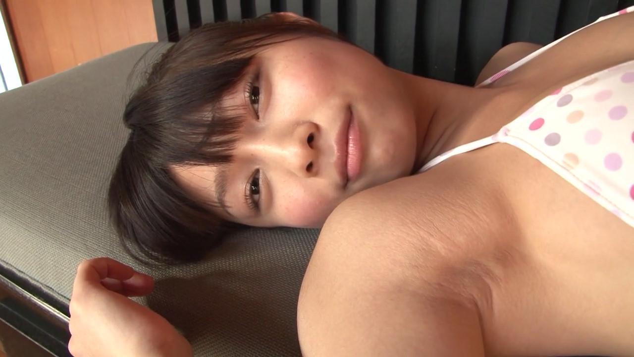 ガッキーを超える逸材の現役JK森美咲(17)がスク水ブルマでマンスジ着エロ画像52