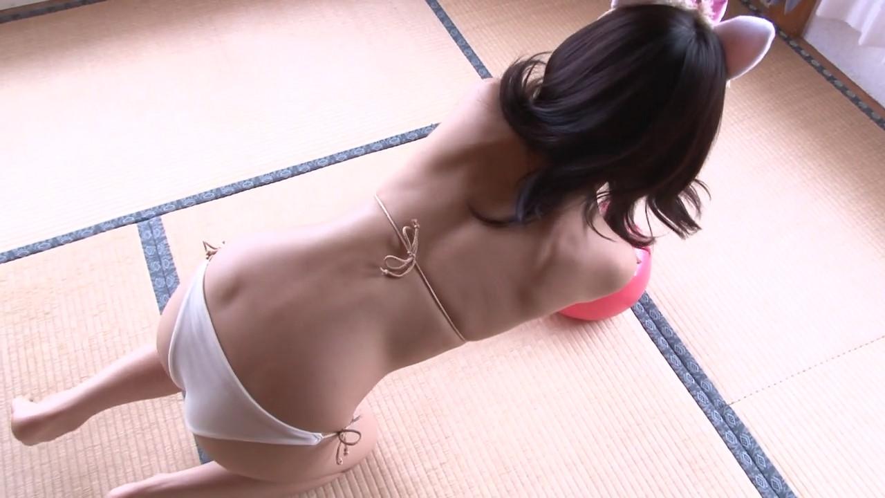 ガッキーを超える逸材の現役JK森美咲(17)がスク水ブルマでマンスジ着エロ画像59