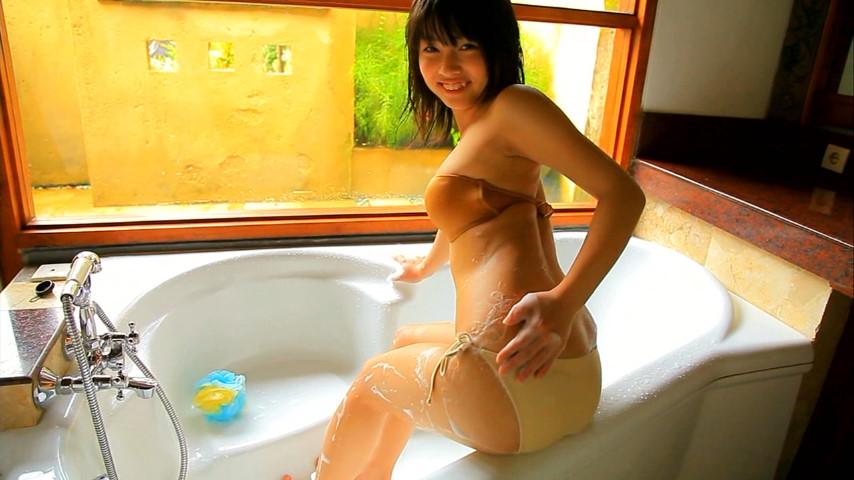 ガッキーを超える逸材の現役JK森美咲(17)がスク水ブルマでマンスジ着エロ画像120