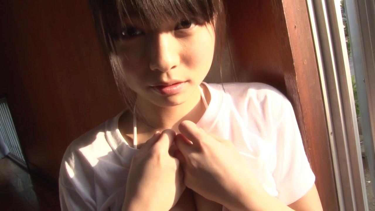 ガッキーを超える逸材の現役JK森美咲(17)がスク水ブルマでマンスジ着エロ画像44