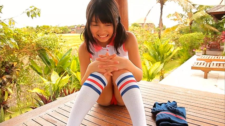 ガッキーを超える逸材の現役JK森美咲(17)がスク水ブルマでマンスジ着エロ画像127