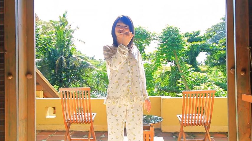 ガッキーを超える逸材の現役JK森美咲(17)がスク水ブルマでマンスジ着エロ画像129