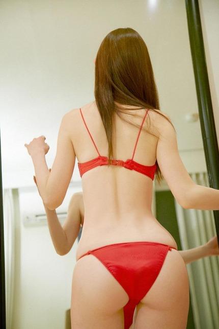 秋山莉奈 尻 (10)