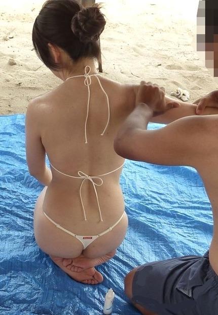 マイクロビキニ エロ水着画像 (5)
