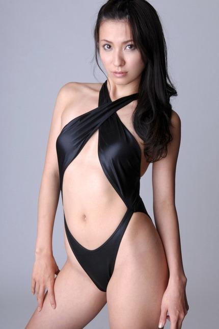 変形水着の着エロ エロ画像 (5)