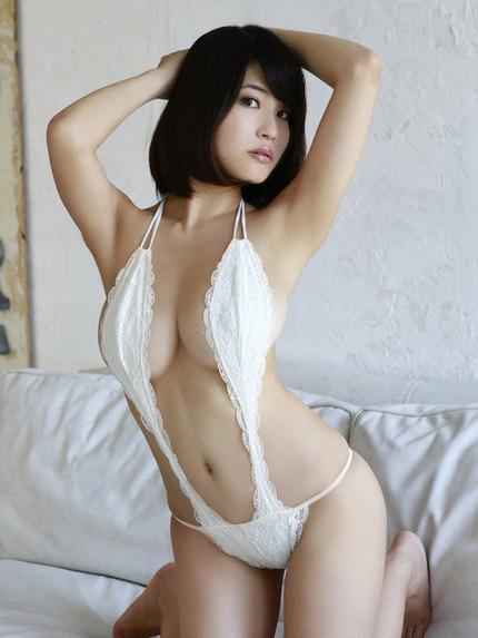 変形水着の着エロ エロ画像 (17)