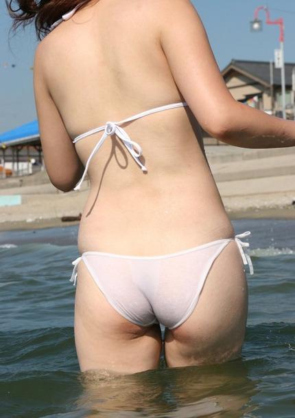 素人水着のお尻エロ画像 (14)