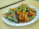 鶏肉と夏野菜のバルサミコ酢和え