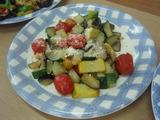夏野菜のグリルP8190032