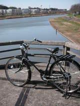 久々自転車