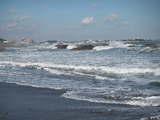 2008年、冬の海