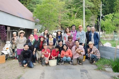 ツキイチカフェNo9(大見新村写真)