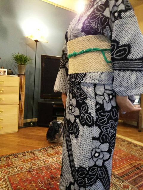 abaca 帯(浴衣) (1)
