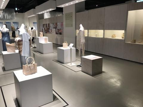 台中市博物館のアバカ商品の展示