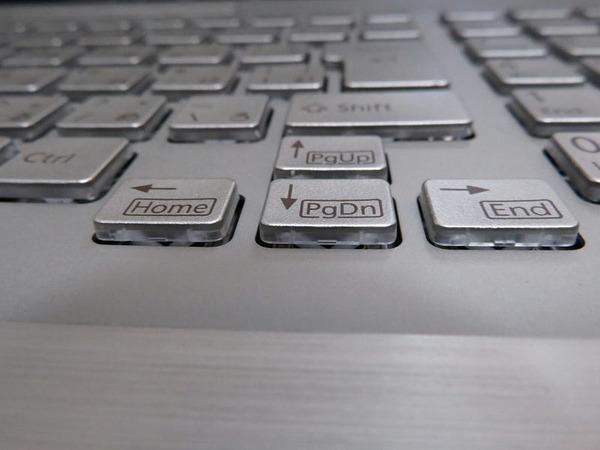 LIFEBOOK_WN1D2キーボード拡大