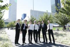 BTS、特別使節として国連総会で演説、軽快なパフォーマンスも披露!