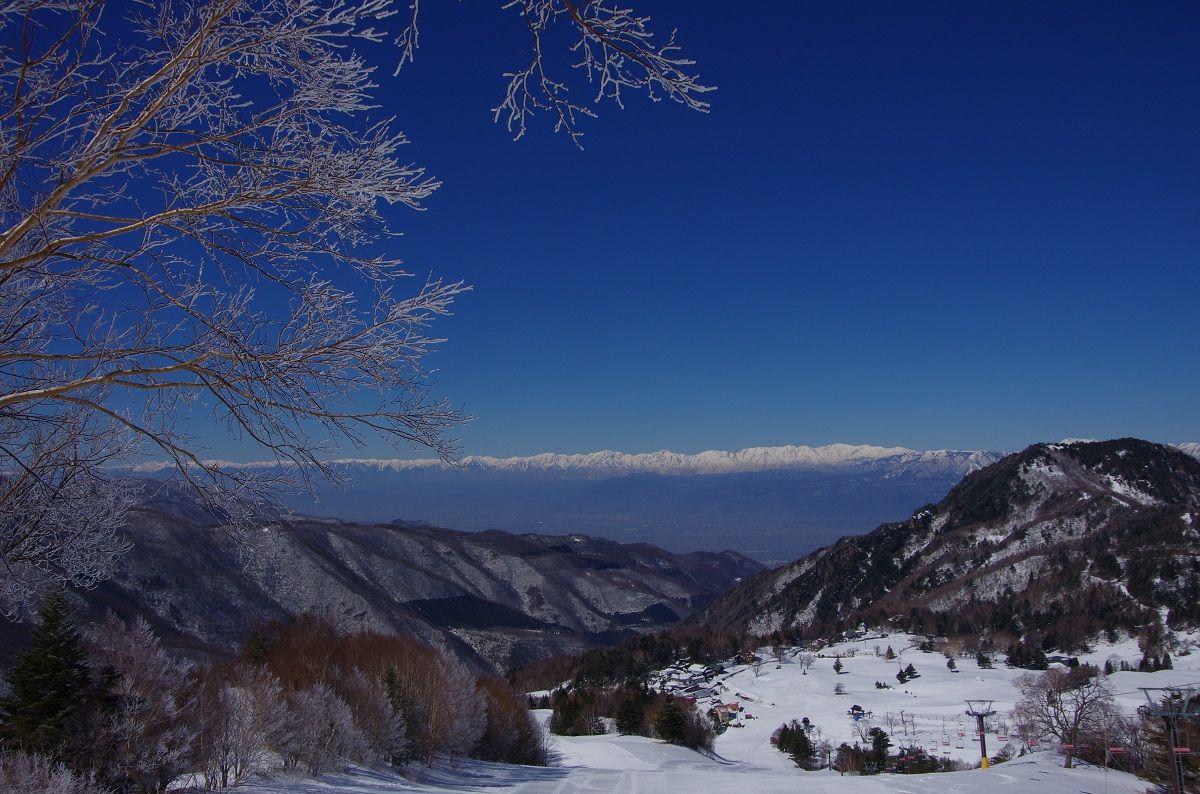 山田牧場スキー場より北 ...