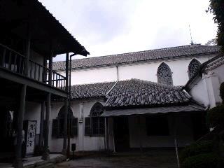 大浦天主堂と神学校