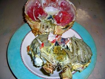 大阪グルメ 蟹