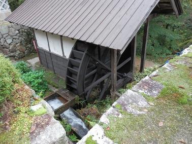 清聴庵-水車1