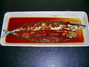 秋刀魚の味噌付け