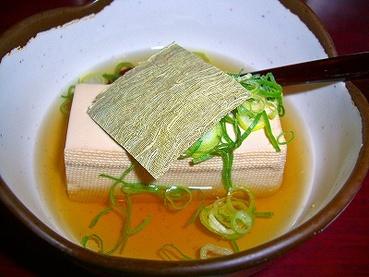 大阪のグルメ 湯豆腐
