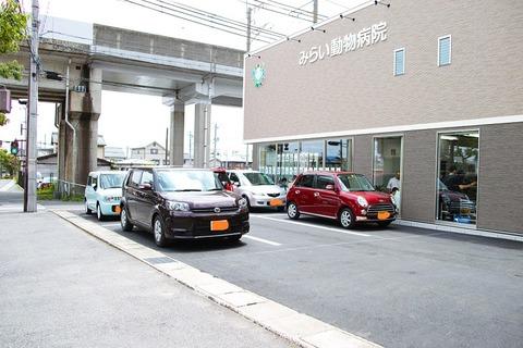 内覧会駐車場
