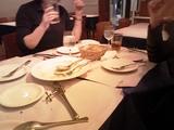 女神様たちと会食