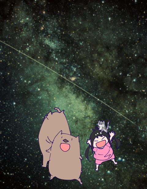 宇宙ステーションを肉眼でみて大興奮した話