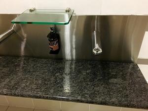 マウント・クックの手洗い場