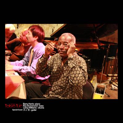 Leroy Williams - drums