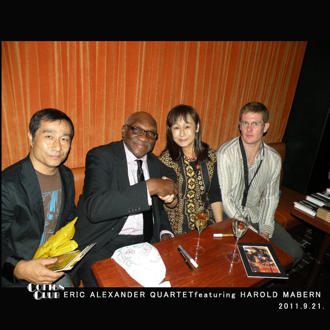 Eric Alexander(sax), Harold Mabern(p