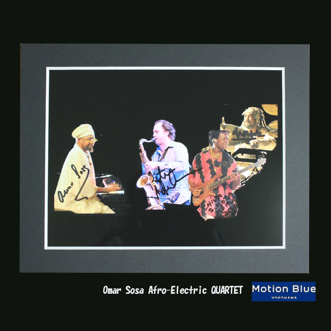 2010のOmar Sosa Afro-Electric QUARTET