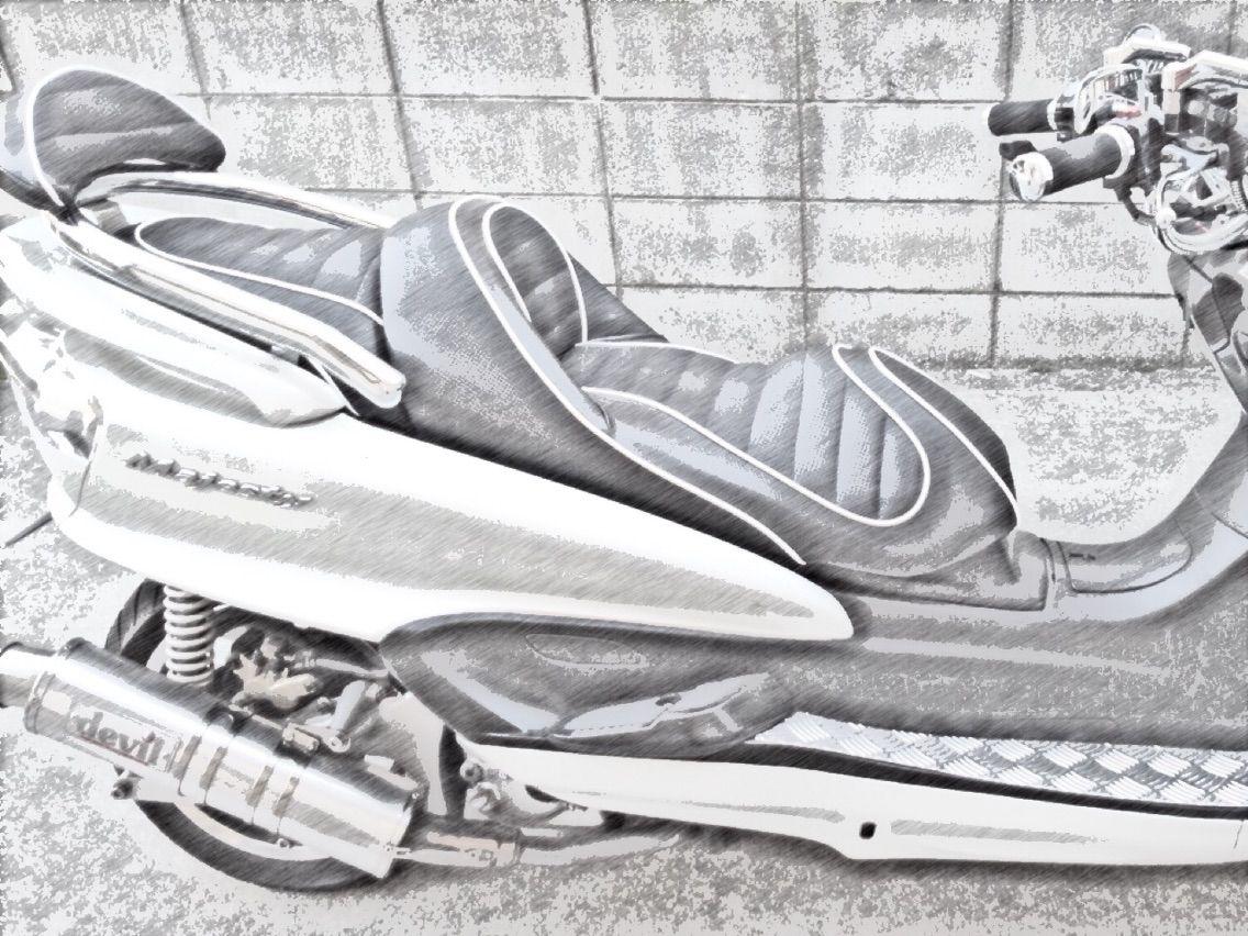 調査バイク