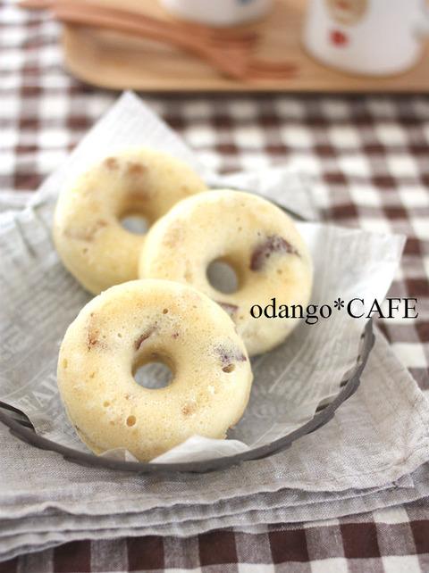 お芋ほっくり♪米粉とおからのベイクド ドーナツ1_600