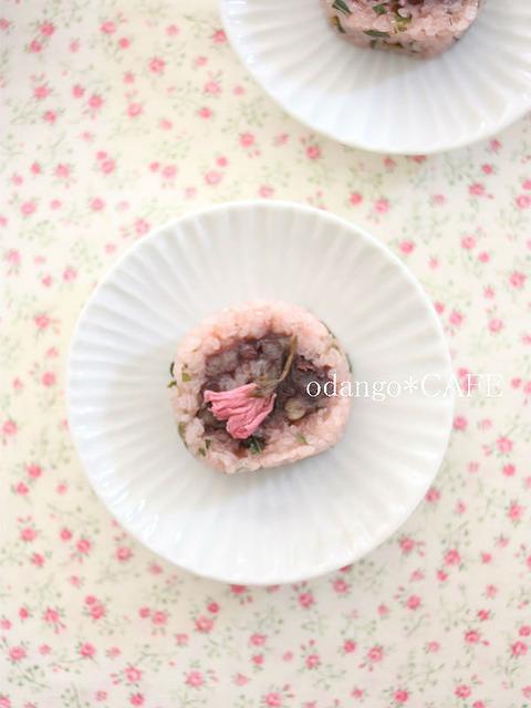 くるくるロール桜餅(道明寺粉使用)(1)_600
