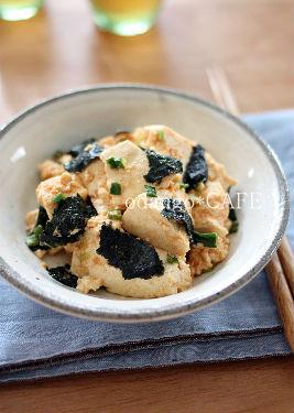 みるまゆオフィシャルブログ「おだんごカフェ@体に優しいナチュラルレシピ」Powered by Ameba-『ほっとイブニング』節電レシピ♪豆腐のみそ和え