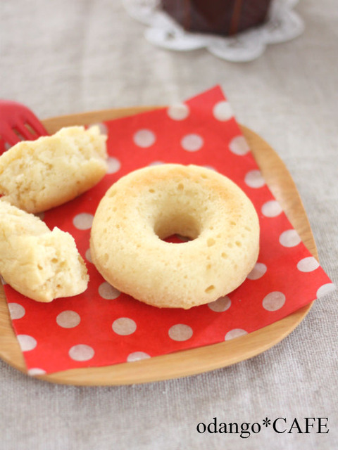米粉とおからのベイクド ドーナツ♪みそ風味1_600