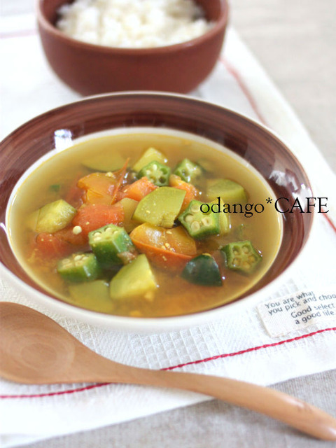 夏野菜のスープカレーランチ1_600