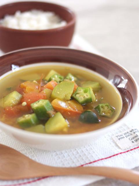 夏野菜のスープカレーランチ2_600