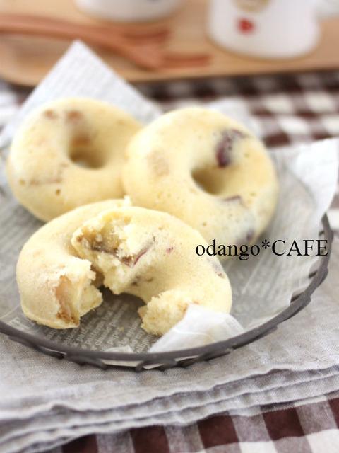 お芋ほっくり♪米粉とおからのベイクド ドーナツ2_600