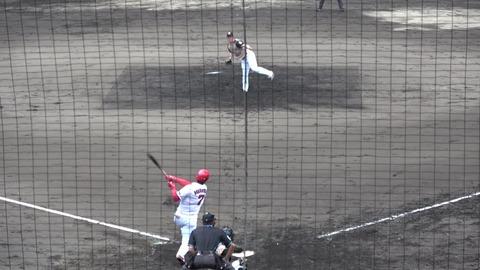 【悲報】堂林翔太さん、フェニックスリーグでバックスクリーンに140m弾をぶち込むなど無双中も干される