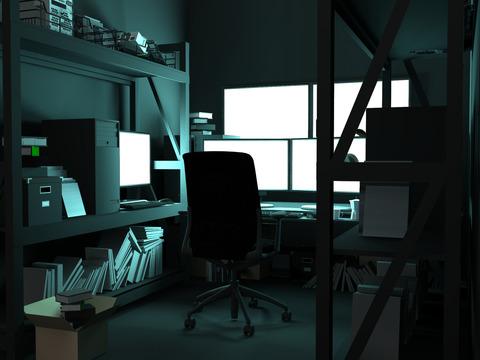 ハッカーの部屋1