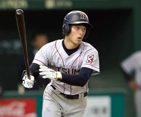 【悲報】立命大・辰巳、ストレートを投げなかった投手に「こいつないわ」