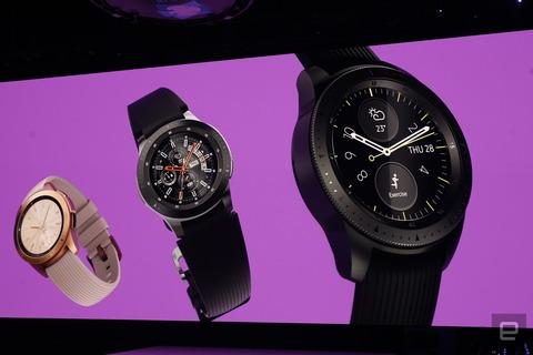 【時計】Galaxy Watch発表。うわさの新スマートウォッチはLTE接続と数日間駆動可能なバッテリー搭載