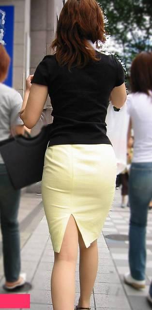 51e3ff90 - OL盗撮 街で見かけるタイトスカートのお姉さんたち3