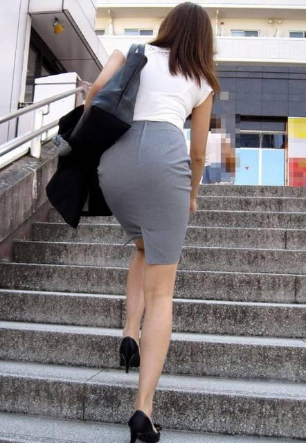 59720a64 - OL盗撮 街で見かけるタイトスカートのお姉さんたち3