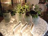 10月のアレンジメント花材と花器
